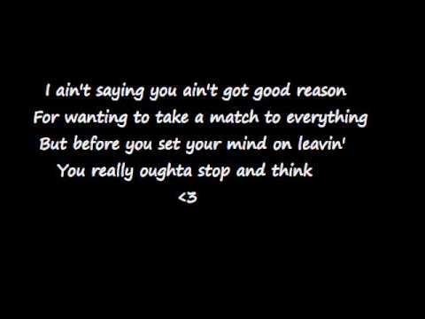 Lets Be Us Again By Lonestar Lyrics Youtube