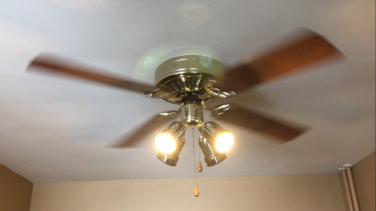 Hunter low profile ceiling fan 52 greatest hits remake youtube mozeypictures Image collections
