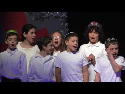 Esther Miriam Performs at Gottesman RTW Academy Chanukkah Celebration, NJ, December 21, 2016