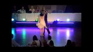 Kirstie McMurray & Andy Brisbane Dirty Dancing at 'Strictly for Cause at the Movies 2014'