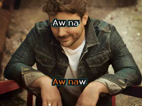 Chris Young AW NAW  - KARAOKE