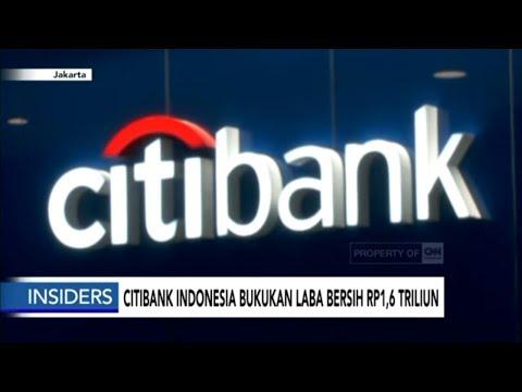Citibank Indonesia Bukukan Laba Bersih Rp 1,6 Triliun