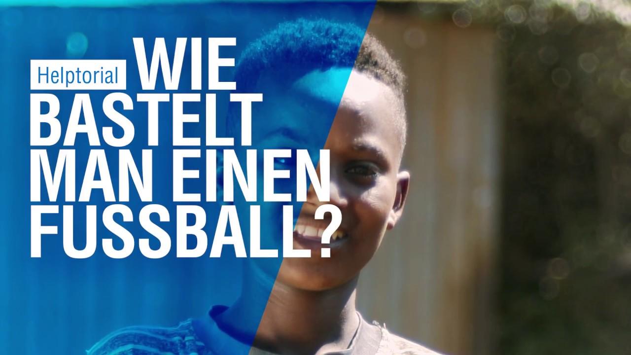 Helptorial: Wie bastelt man einen Fußball?