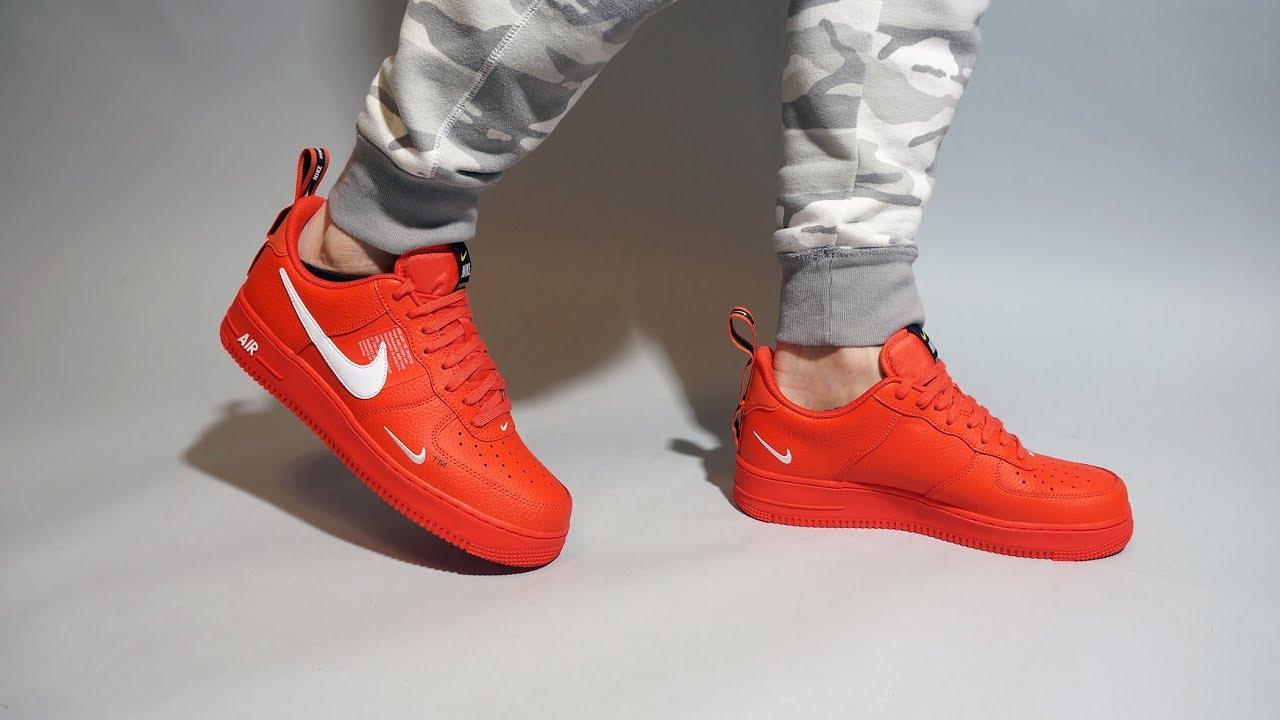 air force 1 utility orange
