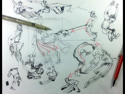 The 7 Ls of Gesture Drawing