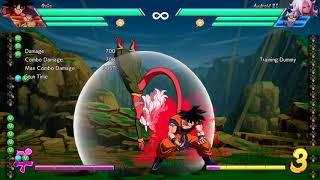 DRAGON BALL FighterZ - Goku Kaioken inputs
