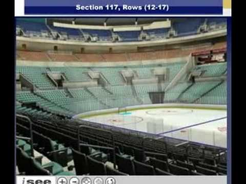 117 row 13 - -VEIW FROM SEATS - LANTETICKETS - FLORIDA PANTHERS