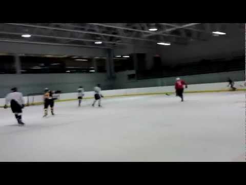 Hockey Warm Up- Pouliot (360) & Crosby VS Pominville & Ovechkin