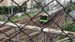 #30 JR山手線 内回り 猿楽橋より恵比寿駅方面