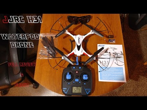 JJRC H31 Waterproof drone review & flight test through water