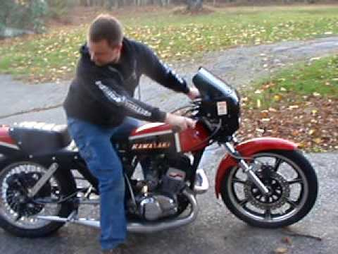 Kawi H2 750 Drag Bike Quick Burnout Youtube