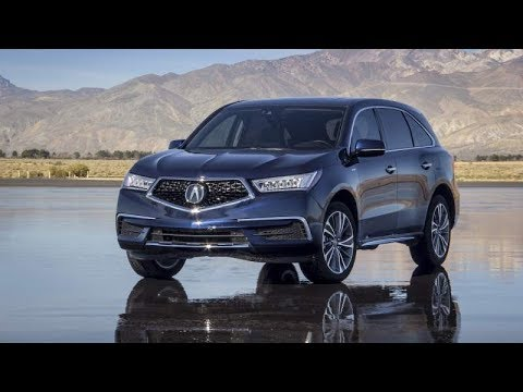 2018 Acura Mdx Sport Hybrid Interior Exterior Is The Most Ful Suv Ever Built