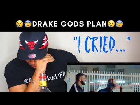 Drake  Gods Plan  Music  REACTION! I CRIED!!