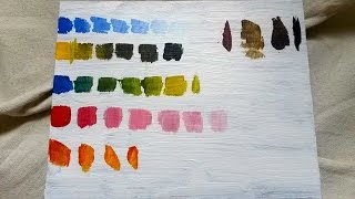 Basic Color Mixing (Acrylic) for Beginning Painters