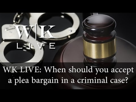 Should you accept a plea deal from the DA?