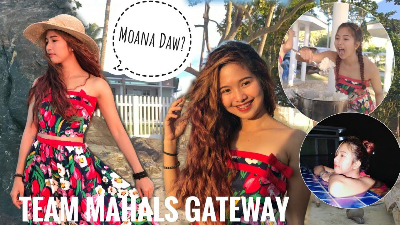 Mahalia Turns Into Moana | Mahals Gateaway