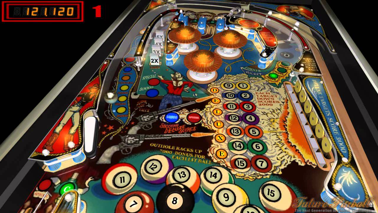 pinball machine eight deluxe