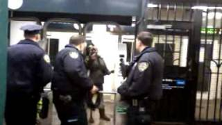*Raw Footage* Veteran Detained by 6 Clueless Officers Jan. 21, 2012