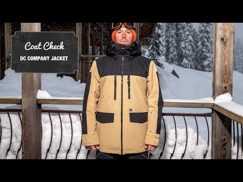 The Coat Check 2019—The DC Company Jacket | Snowboarder Magazine