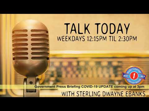 Radio Cayman Live Stream.  Talk Today.  April 30th 2020