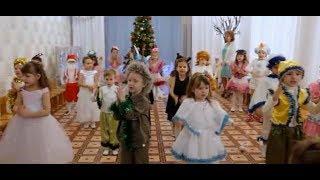 Веселая песня на Новогоднем утеннике \