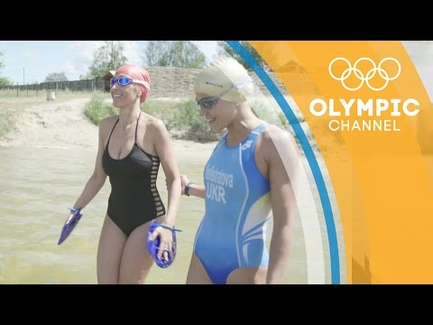 Olympian Yuliya Yelistratova tests YouTuber Susana Yabar