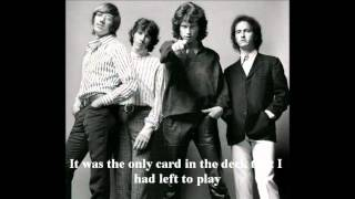 The Doors-Hyacinth House-Lyrics