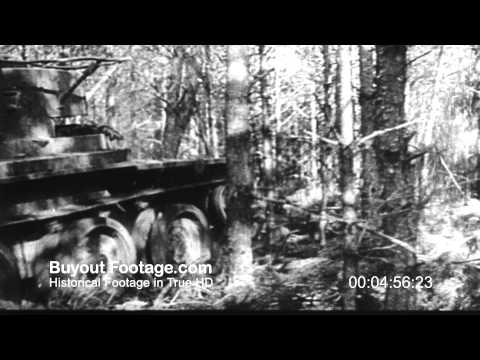 HD Stock Footage WWII German Invasion of Russia | Our Russian Front Reel 1