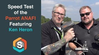 Speed Test of the Parrot ANAFI on a Real Runway!!- (featuring Ken Heron)