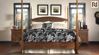 Kincaid 39-147f Meeting House Qn Pencil Post Bed Fb Full 4/6-queen 5/0