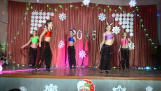 Танец чертиков на новогоднем утреннике, 25.12.14