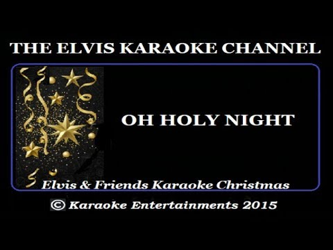 Elvis & Friends Mario Lanza Christmas Karaoke O Holy Night