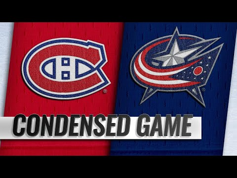01/18/19 Condensed Game: Canadiens @ Blue Jackets