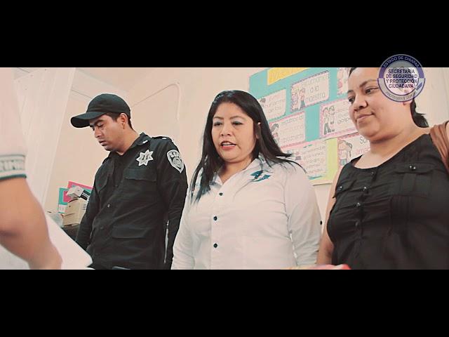 """SSyPC continúa con """"Operativos Mochila"""" en escuelas de Tuxtla Gutiérrez"""