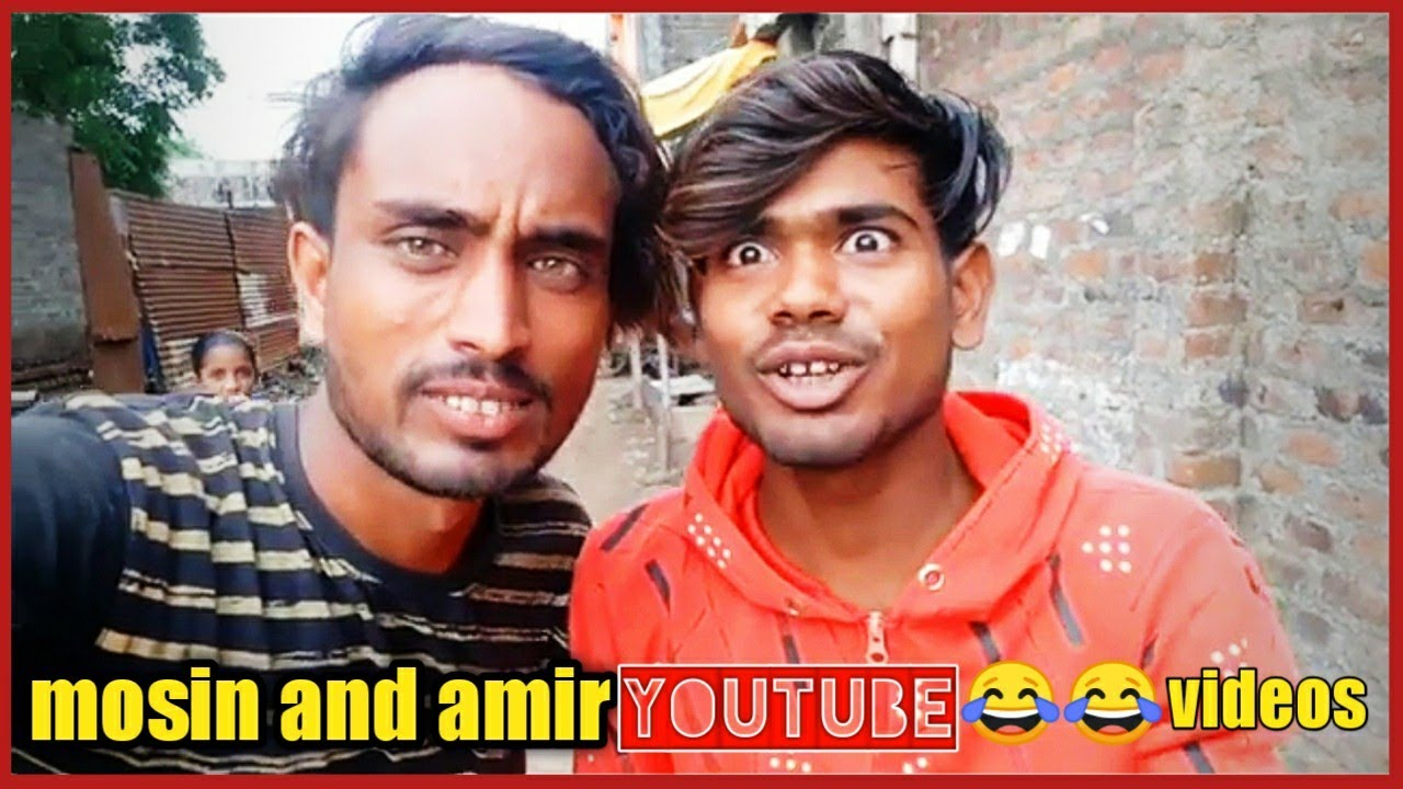 Mosin khan and Amir Pathan funny YouTube VLOGE | PARBHANI VINES