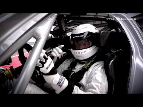 SLS AMG GT3 Racecar Warm-Up with Tommy Kendall -- Clip 3