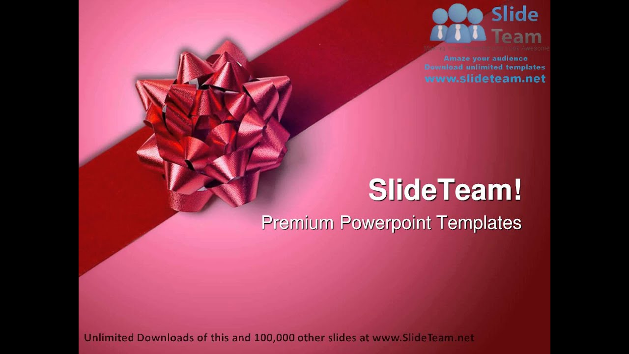 Red gift wrap bow beauty powerpoint templates themes and red gift wrap bow beauty powerpoint templates themes and backgrounds graphic designs negle Image collections