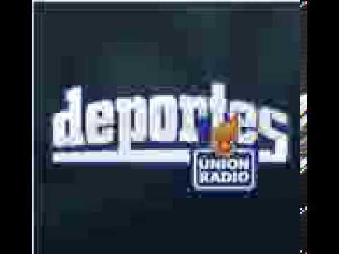 Audio de Deportes Union Radio, leones vs tigres (08-11-2012)