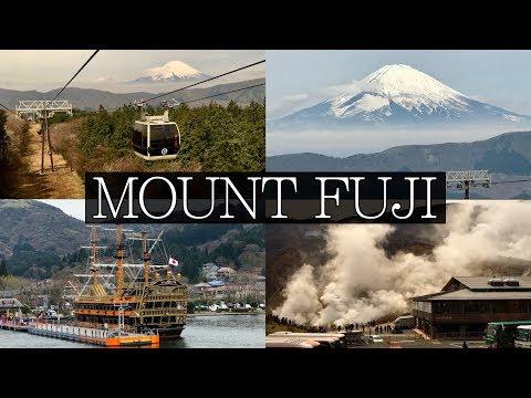 Japan Highlight | Hakone, Mount Fuji, Ropeway, Owakudani, Pirate Ship, Tozan Railway