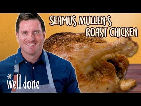 Roast Chicken Over Vegetables with Seamus Mullen | Chef Recipes | Well Done