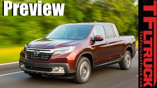 2017 Honda Ridgeline Sneak Peek: Is this 2nd Gen Honda Pickup a Pilot with a Bed?