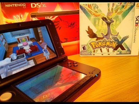NEW POKEMON X Gameplay and Special Edition 3DS XL Double Unboxing