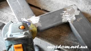 видео Модульная лестница своими руками из металла