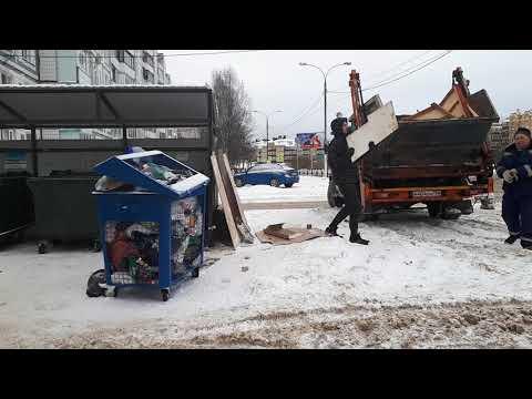 Раздельный сбор мусора с 1 января 2019 года. Московская область, г. Клин.
