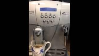 Saeco S-class Incanto Deluxe 20,000 Coffees