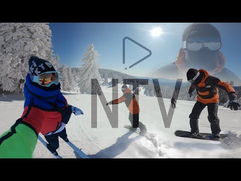 Hitting the slopes of Pamporovo 01