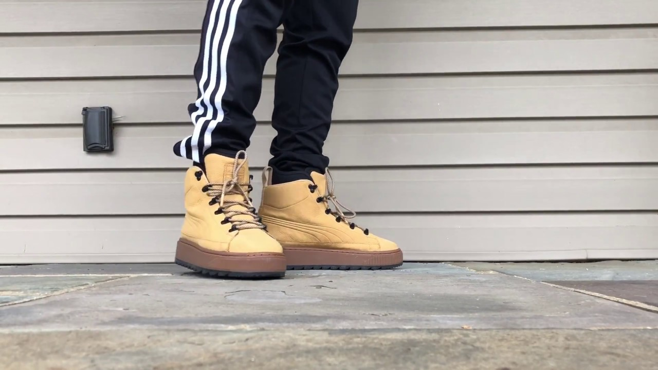 d344e2372c5 Puma The Ren Boot Review + On Feet. Taffy/Wheat Colorway.