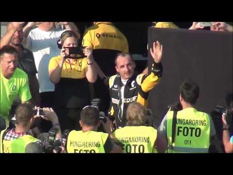 Robert Kubica after Hungaroring test 2017