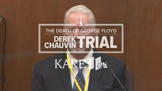 Derek Chauvin Trial: Defense calls national use-of-force expert witness Barry Brodd