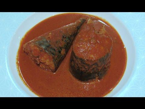 Spicy Mackerel Curry | Bangude Curry Mangalorean Recipe | Fish Ambot Tik